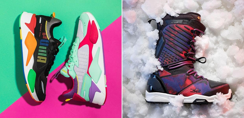 Buty miejskie i snowboardowe Puma damskie Wyprzedaże