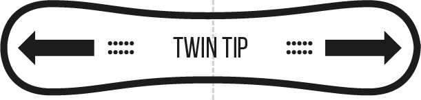 twin tip
